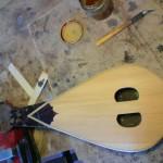 Before varnishing..