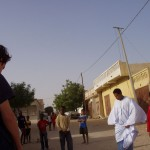 Playing football iun Mauritania
