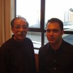 With Djamshid Chemirani